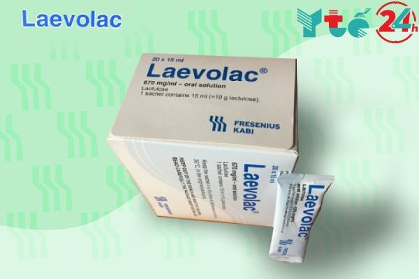 Thuốc Laevolac 10g/15ml là thuốc gì?