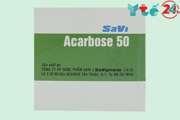 Thuốc tiểu đường Acarbose