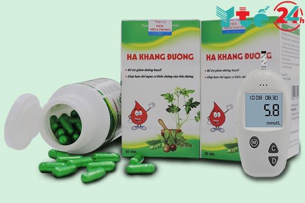 Thuốc nam trị tiểu đường Hạ Khang Đường