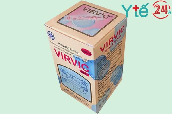 Chống chỉ định Virvic Gran 50g