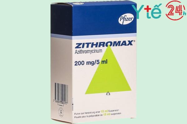 THUỐC ZITHROMAX 200MG/5ML LÀ THUỐC GÌ?