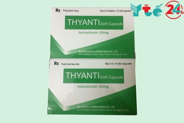 Chống chỉ định thuốc Thyanti
