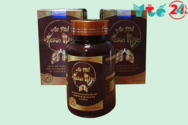 An phế Hoàn Ngọc là một loại thực phẩm bảo vệ sức khỏe đến từ Công ty TNHH Thương mại OLYPHAR