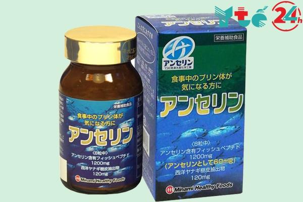 Viên uống Anserine Minami hỗ trợ trị bệnh gout
