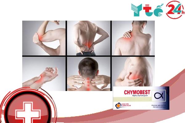Tác dụng thuốc Chymobest