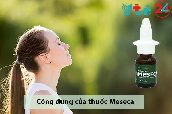 Công dụng của thuốc xịt mũi Meseca