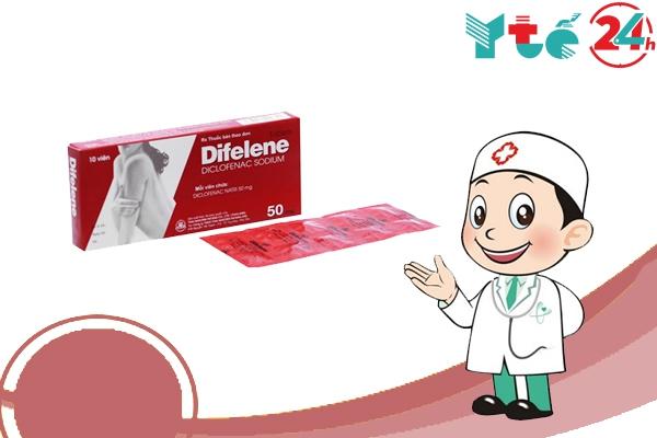 difelene là thuốc gì