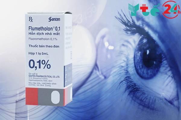 Tương tác thuốc Flumetholon