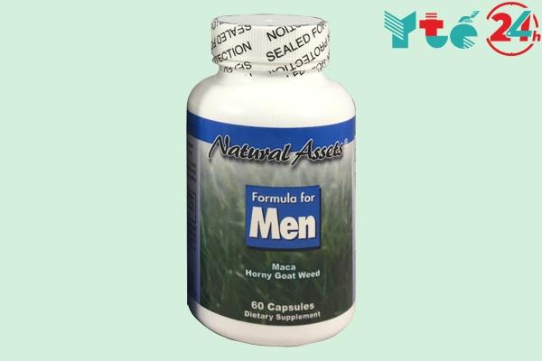Thành phần và tác dụng của Formula for men