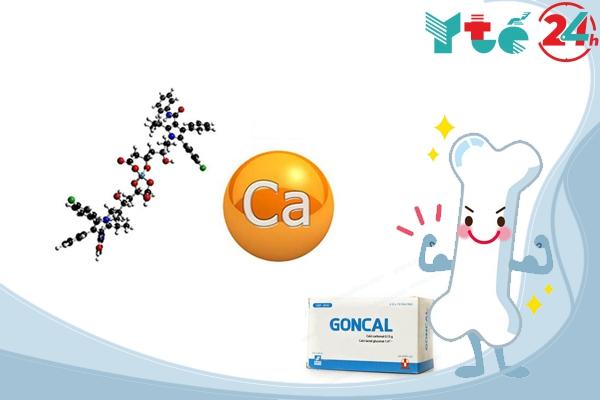 Thành phần của thuốc Goncal