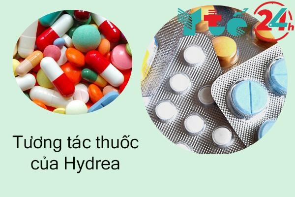 Tương tác thuốc Hydrea