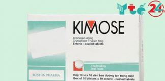 Thuốc chống viêm Kimose