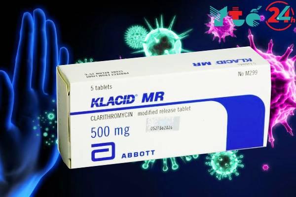 Các loại Klacid đang được lưu hành trên thị trường