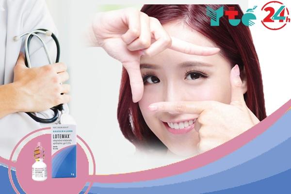Thuốc nhỏ mắt Lotemax 0.5% 5ml