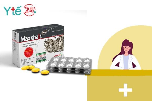 Maxxhair - Bào chế viên nang, dễ dàng sử dụng