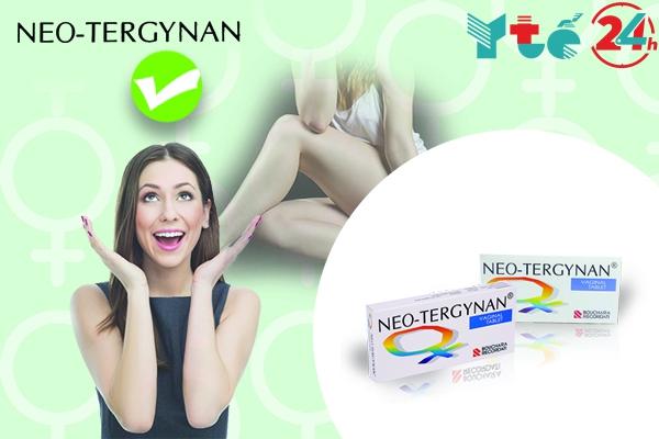 Neo-tergynan nằm trong top thuốc đặt phụ khoa hiệu quả