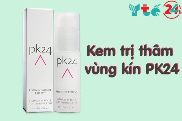 Kem trị thâm vùng kín PK24