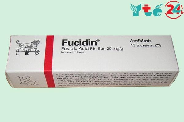 Cách phân biệt Fucidin thật và giả