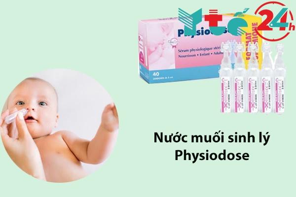 Dung dịch nước muối sinh lý Physiodose