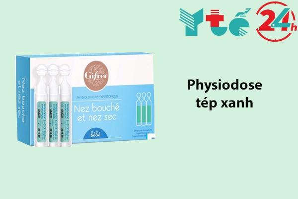 Dung dịch nước muối sinh lý Gifrer Physiodose tép xanh