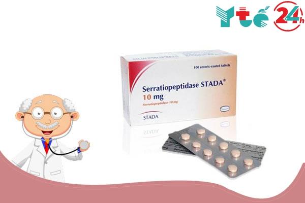 Serratiopeptidase là thuốc gì