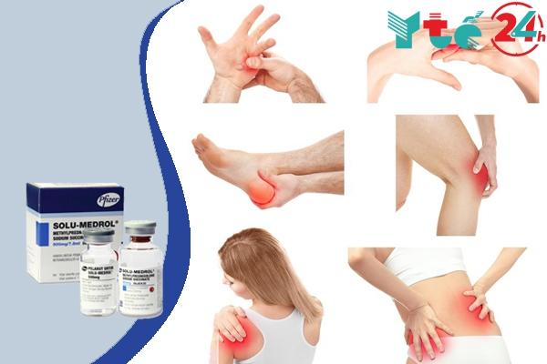 Chỉ định của thuốc Solu Medrol