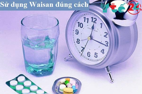 Cách dùng thuốc Waisan 50mg