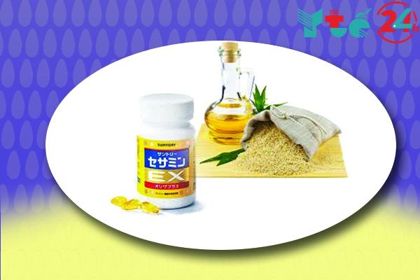 Thành phần của thực phẩm chức năng Sesamin Ex