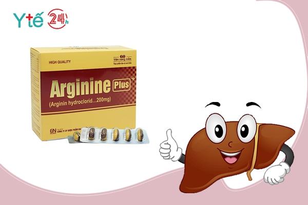 Thuốc bổ gan Arginine