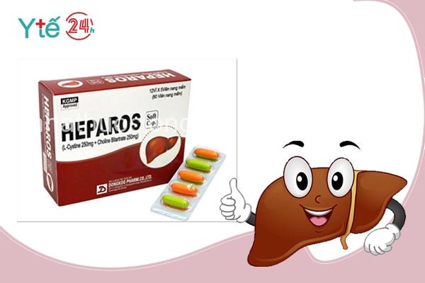 Thực phẩm chức năng giải độc gan Heparos