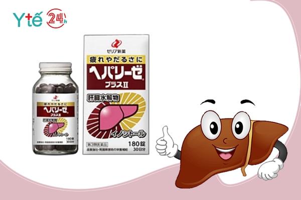 Thuốc bổ gan tiêu độc Liver Hydrolysate
