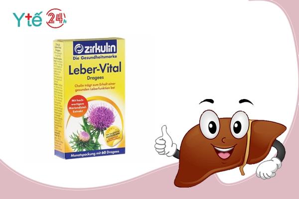 Thuốc bổ gan của Đức