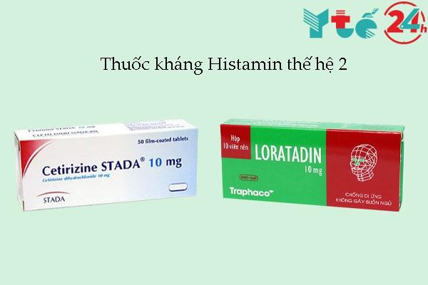 Thuốc kháng Histamin thế hệ 2