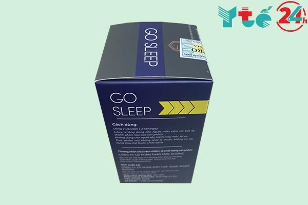Thành phần của Go Sleep