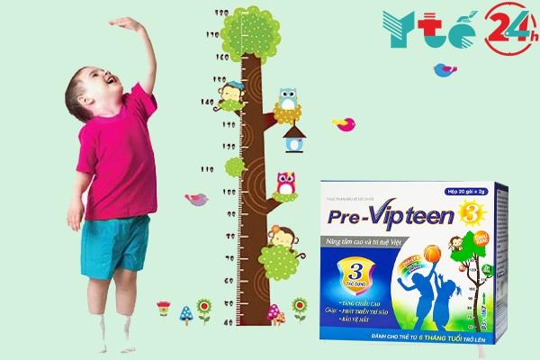 Pre- vipteen 3 cho trẻ em từ 6 tháng