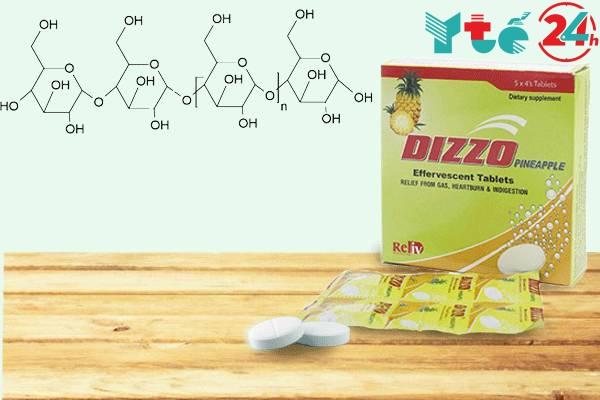 Tác dụng của các thành phần của Dizzo