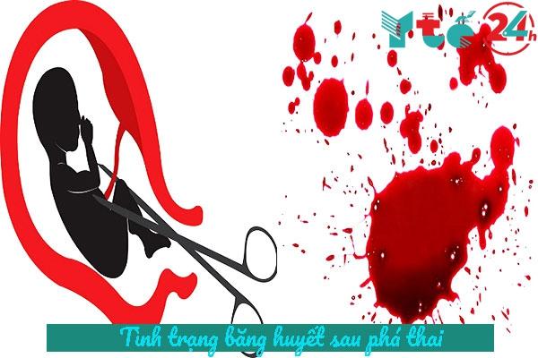 Băng huyết sau phá thai
