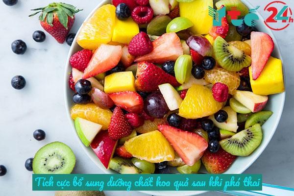 Sau khi phá thai nên ăn hoa quả gì?