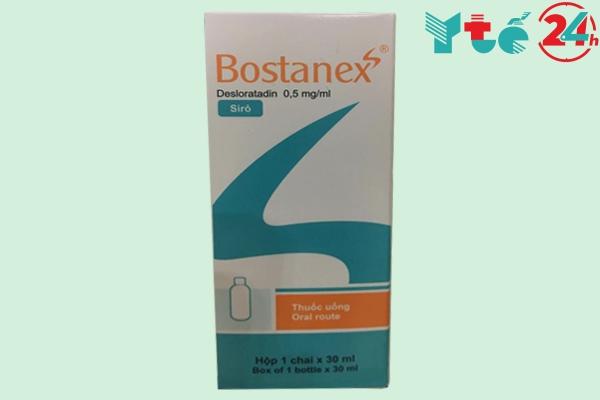 Hình ảnh hộp Siro Bostanex 30ml