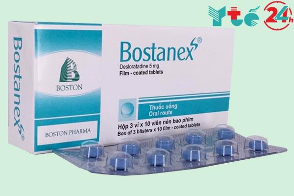 Hình ảnh thuốc Bostanex 5mg chính hãng
