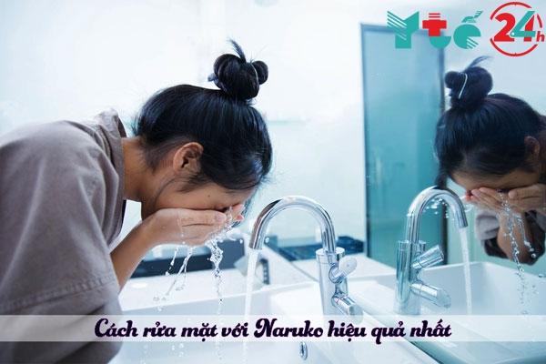 Cách sử dụng sữa rửa mặt Naruko
