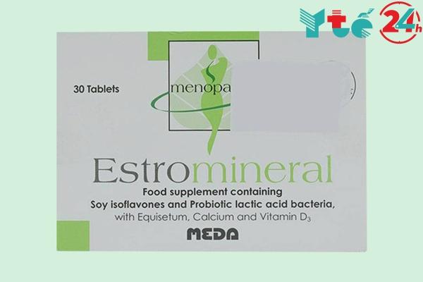 """Estromineral hỗ trọ tăng chất nhờn ở """"cô nhé"""""""