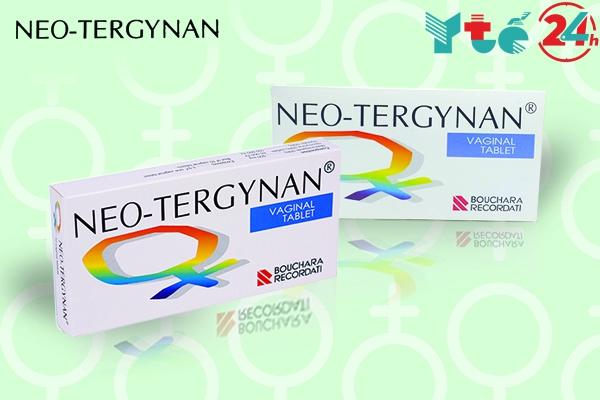 Chú ý cần đặt thuốc Neo-Tergynan đúng cách