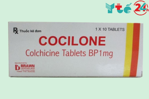 Thuốc Cocilone Colchicine Tablets BP 1mg