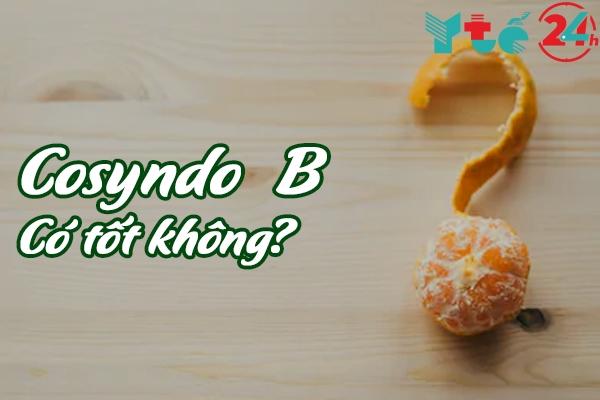 Thuốc Cosyndo B 175mg có tốt không?