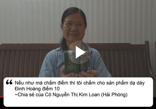 Bệnh nhân Loan chia sẻ về dạ dày Đinh Hoàng