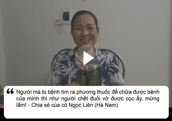 Bệnh nhân Liên chia sẻ về dạ dày Đinh Hoàng