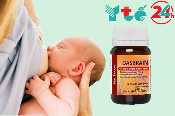 Phụ nữ đang cho con bú cũng có thể sử dụng Dasbrain.