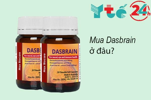 Mua Dasbrain ở đâu uy tín, chất lượng.