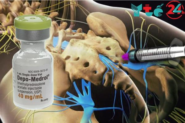 Depo Medrol tiêm ngoài màng cứng được không?